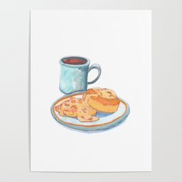 Southern Hygge: Bisuits n' Coffee Poster