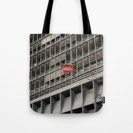 Hostile Hostel Tote Bag