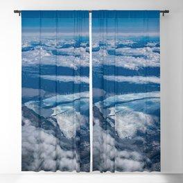 Aerial Glacier Five - Alaska Blackout Curtain