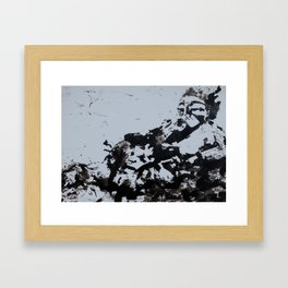 Old pipe Framed Art Print