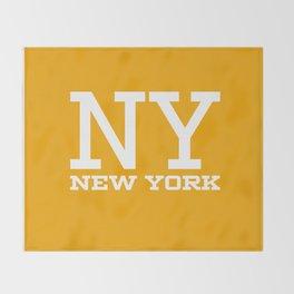 NY New York City Throw Blanket