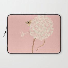 Field Mouse in a Dandelion - Pink Laptop Sleeve