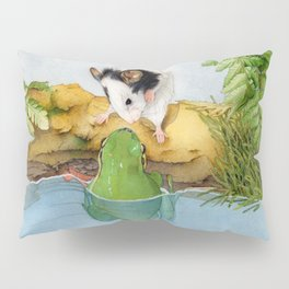 The mouse and the frog Pillow Sham