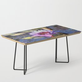 Purple Water Lily Coffee Table