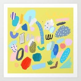 """Save The Earth"" Series Modern Contemporary Art Art Print"