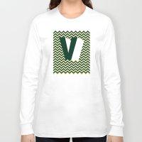 gta v Long Sleeve T-shirts featuring V. by Muro Buro