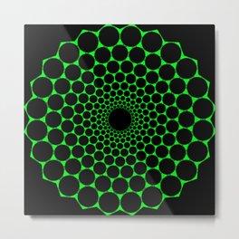 Heart's Geometry Metal Print