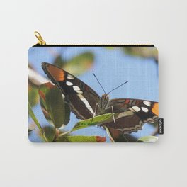 California Sister Butterfly on Oak Leaves Carry-All Pouch