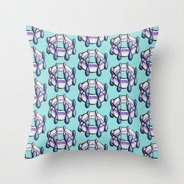 Benzene Molecule Organic Chemistry Pattern Throw Pillow