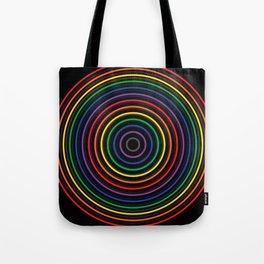 Colorful circle Tote Bag