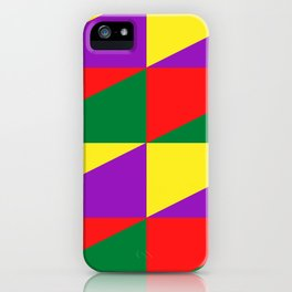 Many triangles iPhone Case