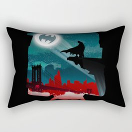 Bat-Man Rectangular Pillow