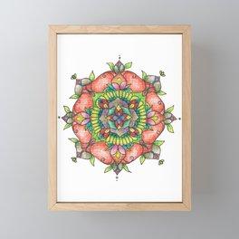 Firecracker Framed Mini Art Print