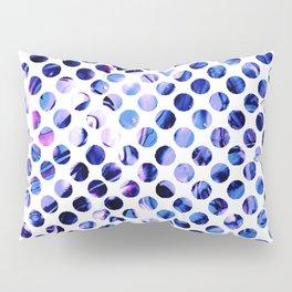 Fluid Dot (Blue Version) Pillow Sham