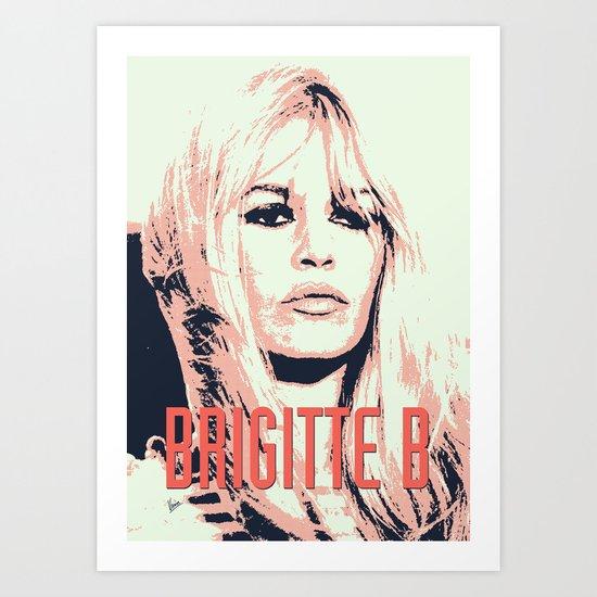 Brigitte B Art Print