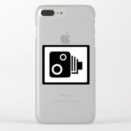Sopeed Camera Clear iPhone Case