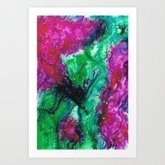 watermelon tourmaline Art Print