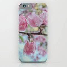 Soft Pink Cherry Blossom Flowers iPhone 6s Slim Case