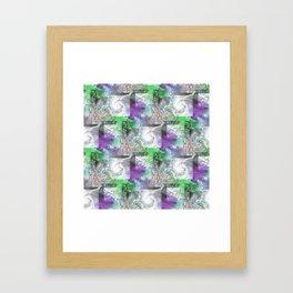 Marble Wall Framed Art Print
