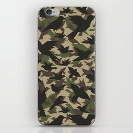 Bird Camouflage 3 iPhone Skin