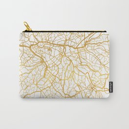 SAO PAULO CITY STREET MAP ART Carry-All Pouch