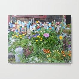 Garden Of Buoys Metal Print