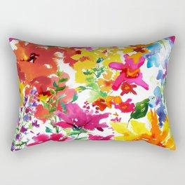 Lorrie's Garden Rectangular Pillow
