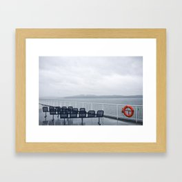 ferries Framed Art Print