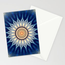 Mandala blue created by Tutti Stationery Cards
