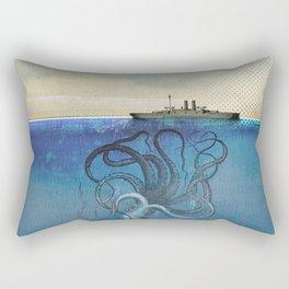 Sea Monster Rectangular Pillow