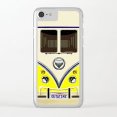 YELLOW minibus lovebug iPhone 4 4s 5 5c 6 7, pillow case, mugs and tshirt Clear iPhone Case