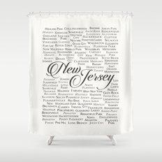 New Jersey Shower Curtain