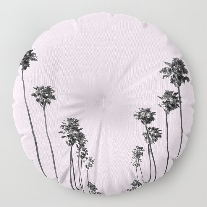 Palm trees 13 Floor Pillow