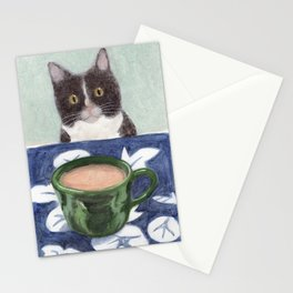 Coffee with Henry #4 Stationery Cards