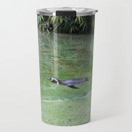Swimming Penguin Travel Mug