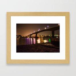 The Itchen Bridge Framed Art Print