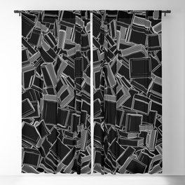The Book Pile Blackout Curtain
