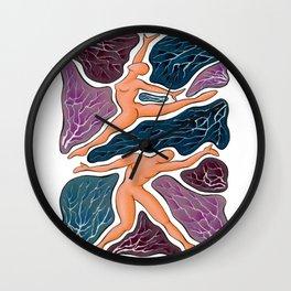 ENDLESS DANCE #5 Wall Clock