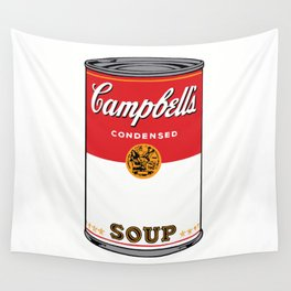 Campbells Soup Wall Tapestry