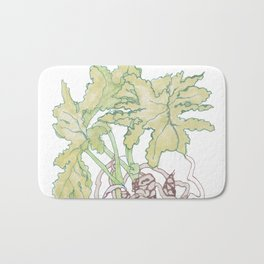 Philodendron Two Bath Mat
