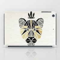 the lion king iPad Cases featuring lion king by Manoou
