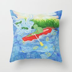 Once in a Dream Throw Pillow