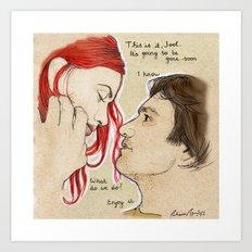 Eternal Sunshine of the Spotless Mind Art Print