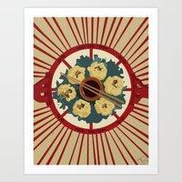 food Art Prints featuring Food by Tonz