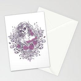 Sexy Woman zombie WITH Flower - KOBI Stationery Cards