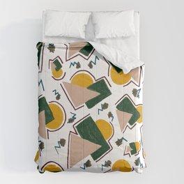 Late Night Sun Comforters