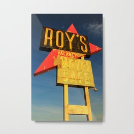 Roy's Vacancy Metal Print