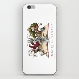 Reading is Fantastic iPhone Skin