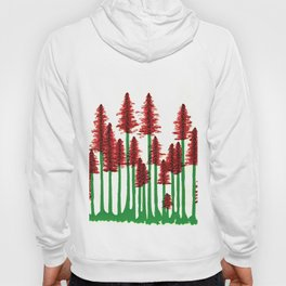 red forest Hoody