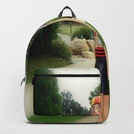 Sculptured 1930s Life Savers Bollards  Backpack